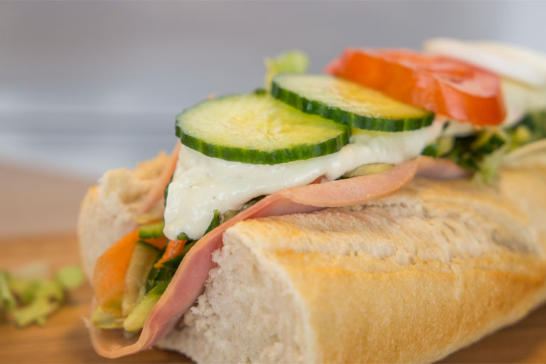 Het bekende broodje gezond van Haagens